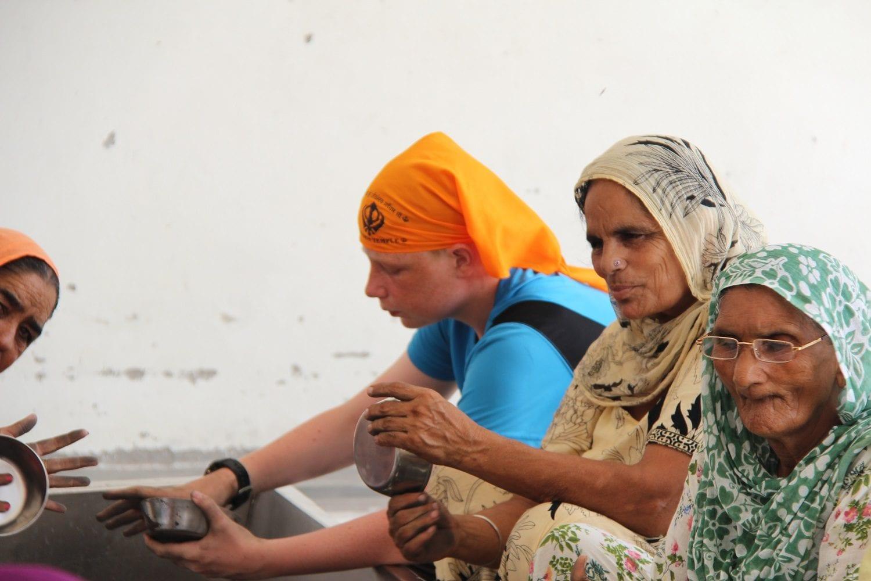 Volunteering, Golden Temple, Amritsar