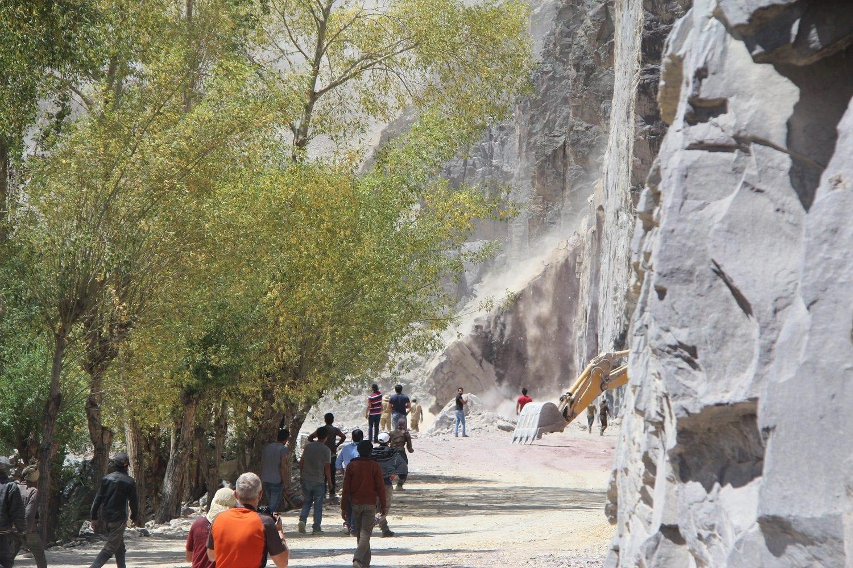 Landslide Ladakh