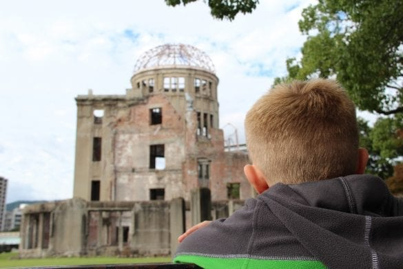 Hiroshima with kids