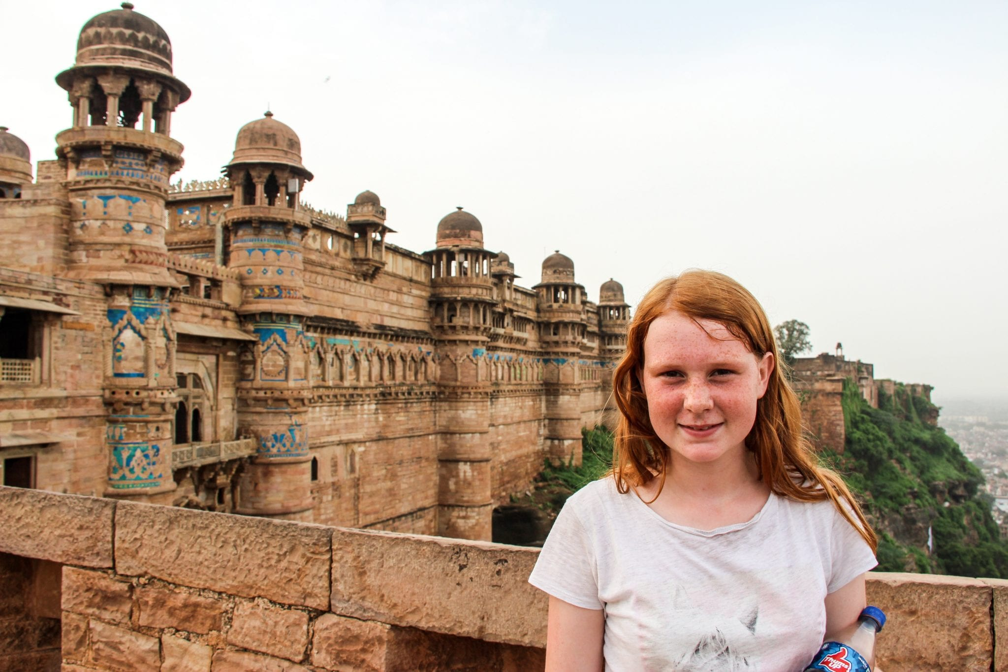 Backpacking India with kids